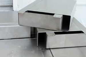 Gekantete Blechteile von LWR Laserworks aus Stäbelow