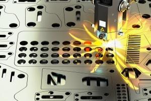 Laserschneiden von Blechen von der ESTA GmbH