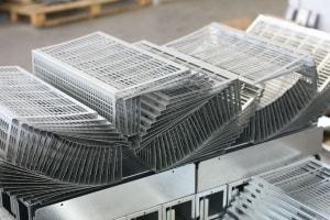 Kantteile aus Stahlblech