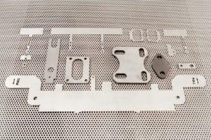 Laserteile von der Rosenberger Metallverarbeitung