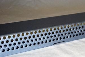 Zahnblech aus Aluminium-Lochblech