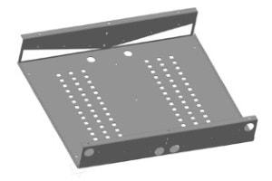 CAD-Ansicht von Blechkonstruktionen