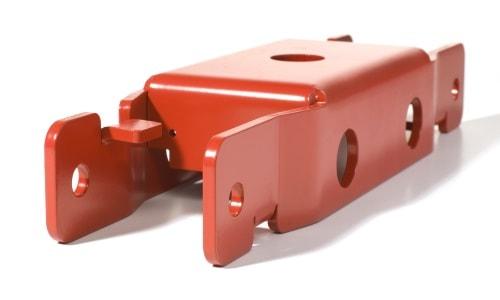 Einbaufertige Blechteile mit Oberflächenbehandlung nach Kundenwunsch
