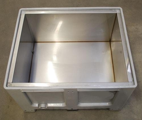 Blechbehälter von der J. Carl Weber GmbH