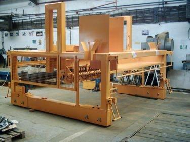 Maschinengestelle für die Industriekunden