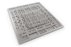 Laser-Stanzbearbeitung mit kombinierten CNC-Maschinen