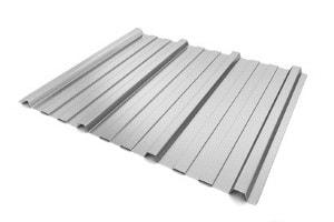 Kanten von Trapezblechen wie Aluminium oder Edelstahl