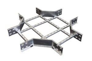 Rohr- und Profilkonstruktion in gebogener Form aus Metall