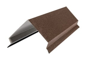 Abkanten von Feinblech für eine Dachverkleidung