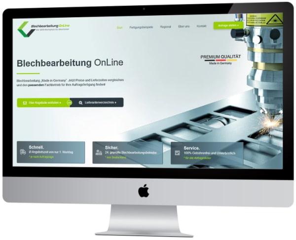 Auftragsfertigung zur CNC-Blechbearbeitung für B2B-Kunden